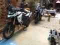 05 Motorräder in der Villa Kunterbunt
