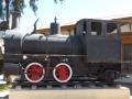 100 Copiapó / Lok vor Eisenbahnmuseum